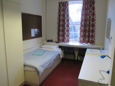 My room at St. Michael's Hall.
