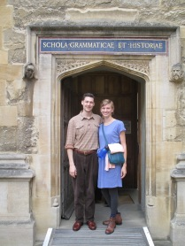 The old entrance to the School of Grammar and History library (School's Quad, Bodleian)