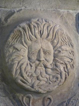 Image of deity (likely Neptune)