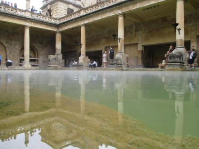 The baths.