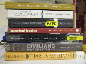 I've managed to pick up some books more in line with my historical interests!
