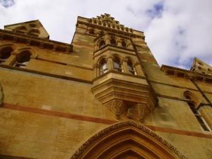 The Venician facade, overlooking Christ Church Meadows