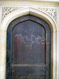 Evidence of anti-Peel sentiment (19th century PM), Christ Church