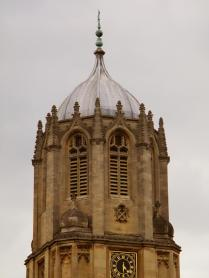 Tom Tower, designed by Sir Christopher Wren