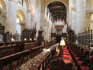 Looking down the nave, Christ Church