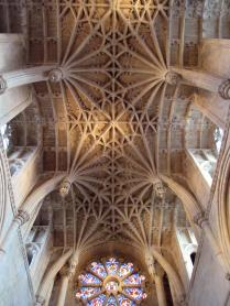 Christ Church cathedral ceiling