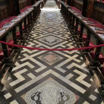 The nave floor, Christ Church