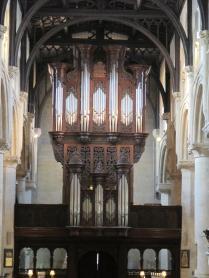 The Christ Church organ