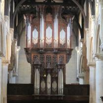 The Christ Church organ