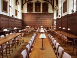 The dining hall. More comforting than the larger Keble and Christ Church halls. It also smelled wonderful.