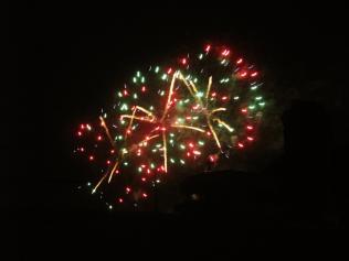 Fireworks celebrating Oxford Open Doors