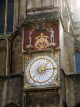 Detail of the left transept facade