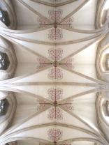 The ceiling of the nave.