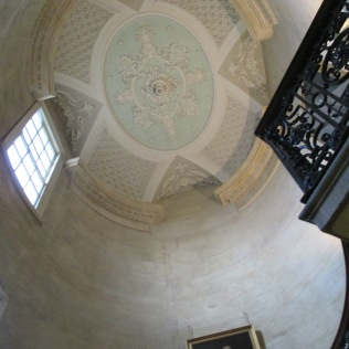 Radcliffe Camera stairwell ceiling