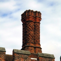 Tudor brickwork