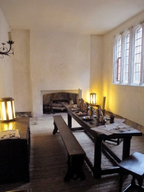 Servants dining room. Everything in the room is 16th century