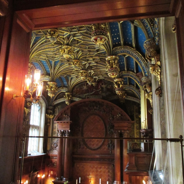 One of my two clandestine photos of the chapel