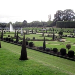 Looking southwest across the Privy Gardens