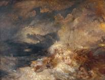 A Disaster at Sea ?circa 1835 by Joseph Mallord William Turner 1775-1851