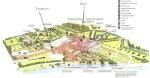 Hampton Court grounds map - Royal School of Needlework