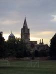 Christ Church Cathedral in the fore, Tom Tower in the background