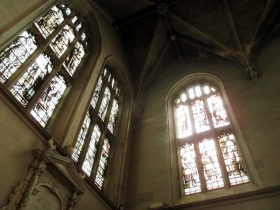 Narthex windows, Magdalen Chapel