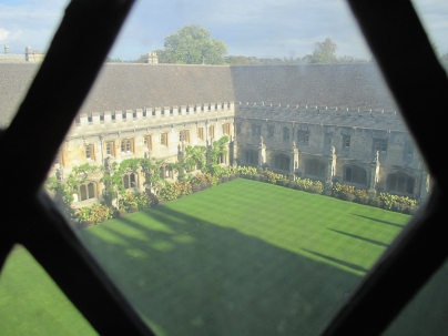 The Cloisters from above