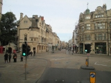 Leaving Oxford (Carfax square)