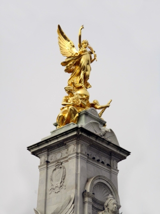 The Victoria Memorial in front of Buckingham
