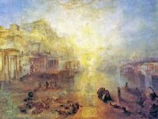 Ancient Italy - Ovid banished from Rome exhibited 1838 by Joseph Mallord William Turner 1775-1851