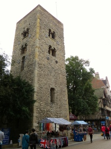 Saxon Tower (I somehow neglected to take a photo of the actual tower - from four-pillars.co.uk