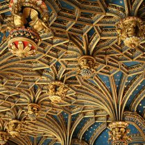 Chapel ceiling - Hampton Court Palace