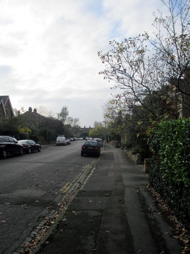 A street in Jericho