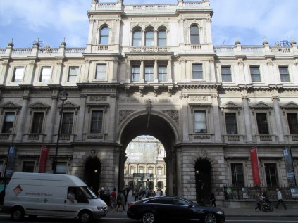 Entrance to the Royal Academy of Art